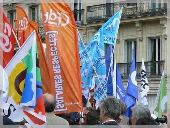 Premier mai 2009 à Paris