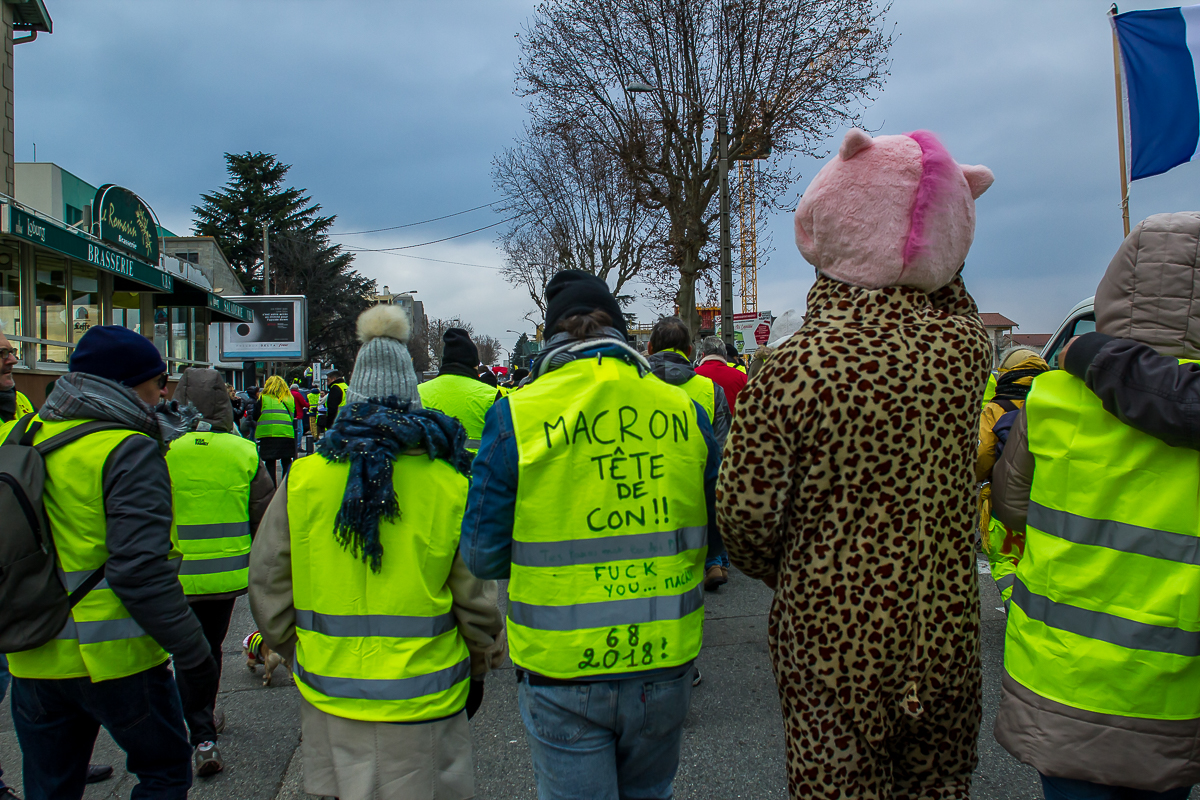 Valence (26) - gilets jaunes le 05/01/2019