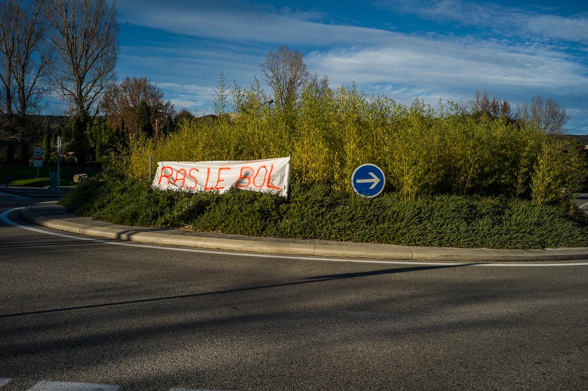 Les gilets jaunes le 24/11/2018 en Ardèche