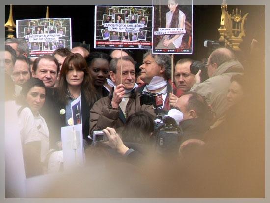 Marche blanche - 6 avril 2008