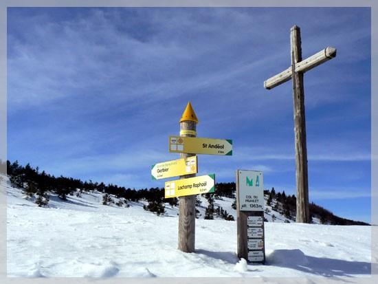 Col du Pralet en Ardèche