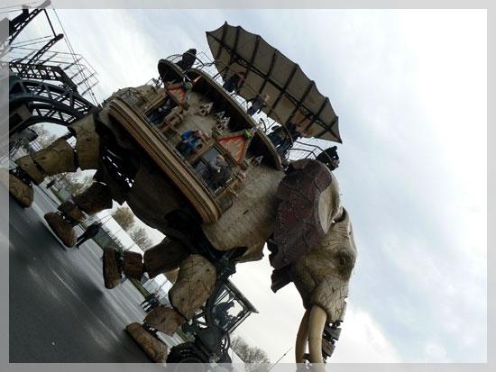 Les Machines de l'île ... Le Grand Eléphant